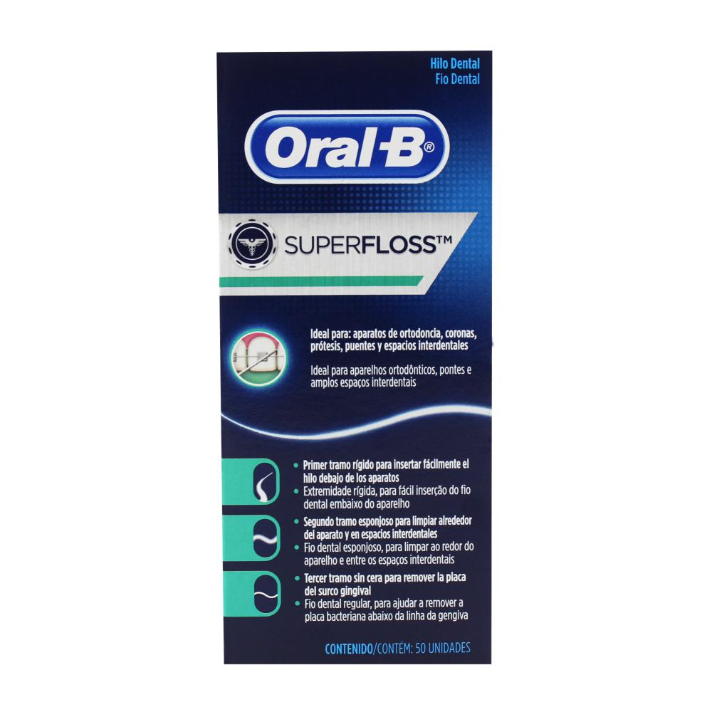 75a4f4bd2 Fio Dental Oral-b Essential Floss Menta 50 Metros - Apoio Entrega