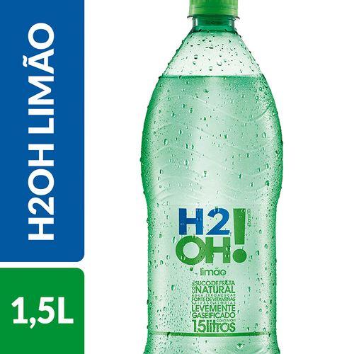 Refrigerante de Baixa Caloria H2OH Limão Garrafa 1,5 L..