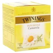 Cha-Ervas-Ingles-Twinings-Pure-Camomile-Caixa-com-10-saches