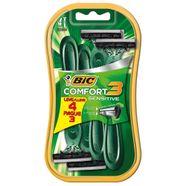 aparelho-barbear-bic-comfort-3-sensitive-leve-4-pague-3-unidades