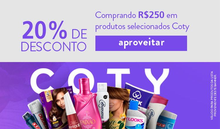 coty 20off