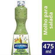 Molho para Salada Hellmanns Limão com Alecrim 475ml