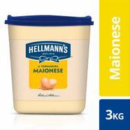 Maionese Hellmanns Balde 3Kg