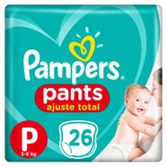 Fralda-Pampers-Pants-Ajuste-Total-P-26-Tiras
