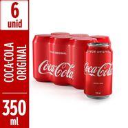 Refrigerante-Coca-Cola-Sabor-Original-Embalagem-Leve-Mais-Pague-Menos-com-6-Unidades-350ml
