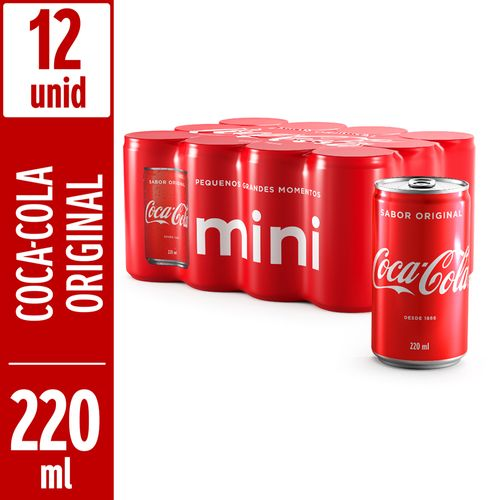 Refrigerante-Coca-Cola-Sabor-Original-Mini-220ml