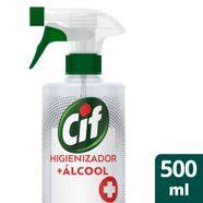 Higienizador---Alcool-Cif-Original-Mata-99--de-Germes-e-Bacterias-500ml