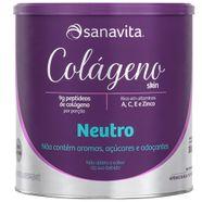 Colageno-Hidrolisado-Em-Po-Sanavita-Neutro-300g