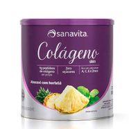 Colageno-Skin-Sanavita-Abacaxi-Com-Hortela-300g