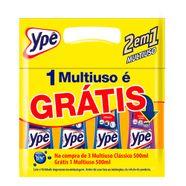 Kit-Limpador-Ype-Multiuso-Classico-500ml-com-3-Unidades-Gratis-Multiuso-500ml