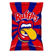 Batata-Frita-Ondulada-Churrasco-Elma-Chips-Ruffles-Pacote-84G