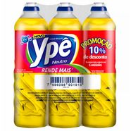kit-detergente-ype-neutro-500ml-promocional-com-6-unidades