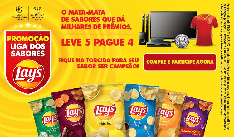 PepsiCo Liga dos Sabores de 01 a 31/05