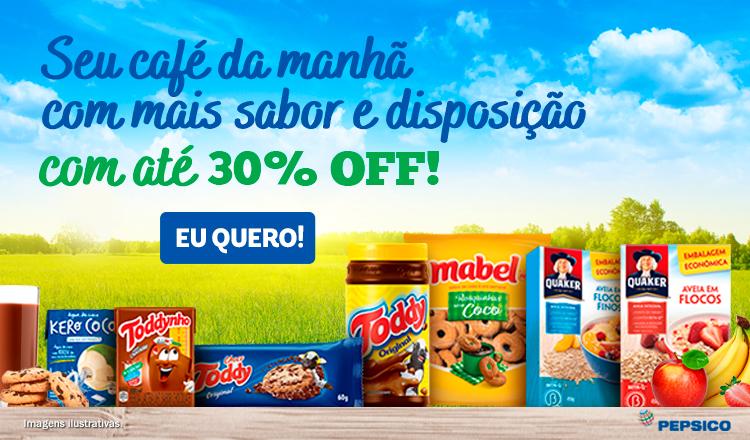PepsiCo Café da Manhã - 01/06 a 30/06