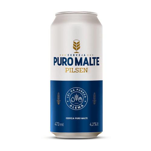 Cerveja Pilsen Império Puro Malte 473ml