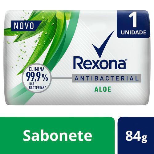 Sabonete em Barra Rexona Antibacterial Aloe Vera 84g