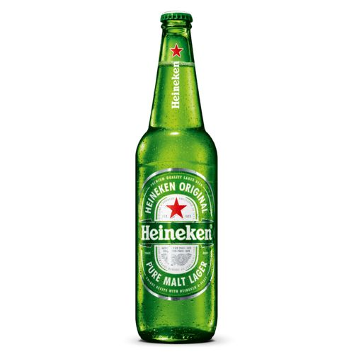 Cerveja Heineken Premium Pilsen Lager 600ml Cerveja Heineken One Way Garrafa 600 ml
